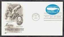 MOBY DICK WHALING HERMAN MELVILLE AUTHOR 1970 FDC
