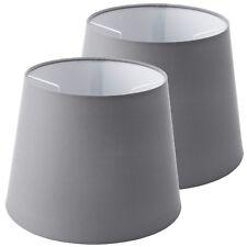 2 x IKEA JÄRA (Jara) Grey Lampshades (25cm Diameter)
