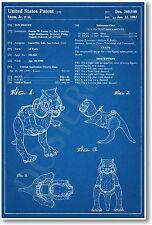 Star Wars Tauntaun Patent - NEW Invention Patent Movie Art POSTER