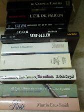 lot de 50  romans livres  grand format