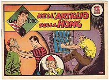 fumetto GIM TORO SERIE ROSA ORIGINALE ANNO 1948 N. 42