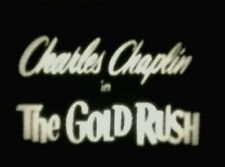 """8mm silent Film """"The Gold Rush"""" Complete 1925 Feature Chaplin 2-800' Reels"""