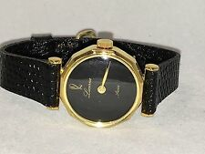 Lucerne Swiss Vintage Ladies  Gold Tone Mechanical Hand Winding Watch (A-324)