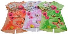 Kurzarm Mädchen-T-Shirts & -Tops mit Rundhals-Ausschnitt aus Baumwollmischung