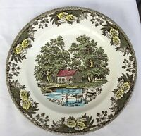 Royal China FAIR OAKS 10 inch Dinner Plate