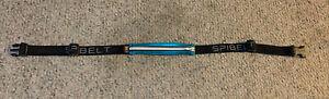 "SpiBelt Zipper/Logo Band - 8.9"" Large Pocket Fits Waist 25""-47"" Blue Pineapple"