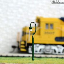 10 x N Scale led street lights Model Railroad Lamp posts Path Lamps #R36N
