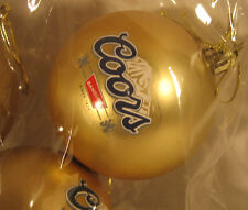 New 1 Bulbs COORS Beer CHRISTMAS Tree Ornament Decoration BULB  shirt lights