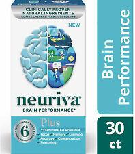 Neuriva Brain Performance 30 capsules Neuriva Plus Expires 2/21