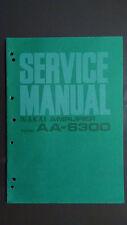 AKAI aa-6300 Service Manual original Repair book stereo amp