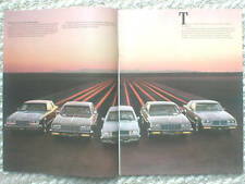 1982 BUICK Brochure / Catalog : RIVIERA,LeSABRE,SKYLARK,REGAL,Electra