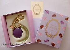 LADUREE Macaron Keychain / Key ring / Bag Charm Violet from Japan New