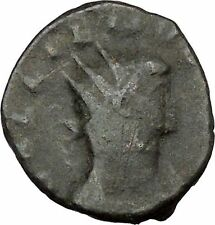 Gallienus son of Valerian I Ancient Roman Coin Pax Eirene Peace Cult  i37565
