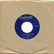 Little Walter Trio / Baby Face Leroy Trio w/ Muddy Waters! - MINT Parkway 45rpm