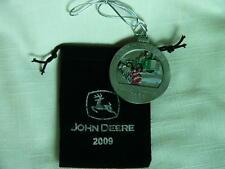 John Deere 2009 Pewter Medallion-JD 8010 Tractor-#14