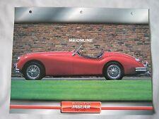 Jaguar XK140 Dream Cars Card
