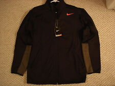 NWT Nike Hyperply Therma-Fit Black Jacket 480309-010 Nadal Federer NEW Large / S