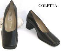 COLETTA - CHAUSSURE CUIR NOIR 36 - EXCELLENT ETAT