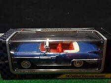 Road Signature 1958 Cadillac Eldorado Biarritz Convertible 1:18 Blue Diecast Car