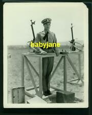 RAMON NOVARRO VINTAGE 8X10 PHOTO IN UNIFORM 1929 THE FLYING FLEET MGM