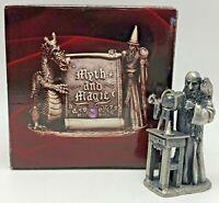 Myth and Magic Tudor Mint Pewter Fantasy Figurine The Alchemist 3019