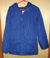 Aeropostale Boys Size 14 Blue Jacket Winter Coat EUC