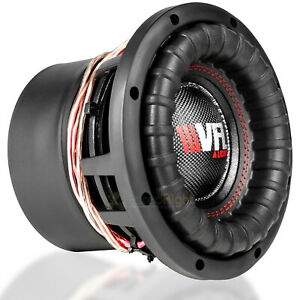 """American Bass 8"""" Competition Subwoofer Dual 4 Ohm 1200W Max Sub VFL-8D4 Single"""