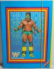 WWF VTG 1991 WARRIOR - THE BUSHWHACKERS 14'' FILE FOLDER STATIONERY BY PIGMA