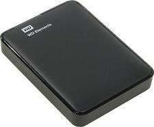 WD 1.5TB Portable External USB 3.0 Hard Drive Disk Black XBox X Box MAC 1 2 TB