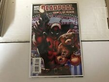 DEADPOOL GAMES OF DEATH (2009 Marvel) #1 One Shot Amazing Spiderman Venom Comic