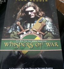 Whispers of War : The War for the North: Book One by Sean Rodden SIGNED