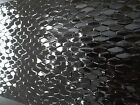 Textured Black Feature Wall Tile 300x900 Cladding Spanish Splashback Gloss