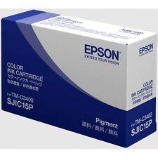 Epson Cartucho de color 3 C33S020464 contenido 78,9ml para ColorWorks C3400