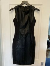 French Connection Leather Dress Size 10