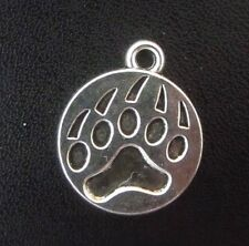 Pendant Bear Claw Paw Charm  Grizzly Paw Animal Charm  Wildlife Charm