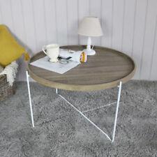 Mesas modernos de salón de metal para el hogar