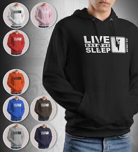 Ice Cream Man Hoodie Live Breathe Sleep Gift