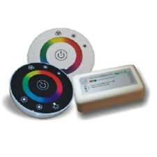 2.4Ghz RGB LED Rund Touch Remote Fernbedienung + Stripe Streifen Controller 3x6A