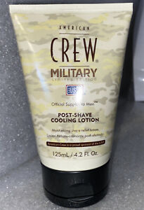 American Crew Military Limited Edition Post Shave Cooling Lotion Rare