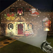 Laser Projector Lamp Moving Snowflake LED Stage Light For Halloween Xmas Party