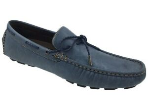 Mecca Tony Men's Lace Slip-On Loafers Shoes size 9.5