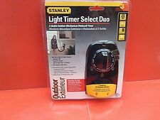 Stanley Light Timer Select Duo (outdoor) sealed NEW