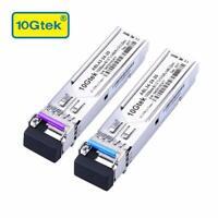 for Cisco GLC-BX-U and GLC-BX-D, a Pair of 1000BASE SFP Bidi Transceiver 20km
