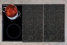 KESPER Herd-Abdeckplatte Granit Schneidebrett Ceranfeld-Abdeckung Herdabdeckung