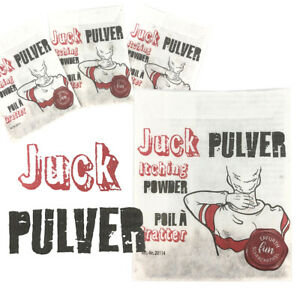 1/3/5/10x Juckpulver Juck Pulver Itching Powder Scherzartikel Streich