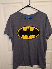 Batman Athletic T-Shirt Gray Size Xl