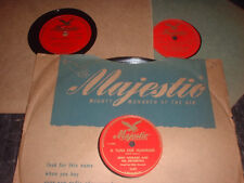 78RPM 3 Majestic by Eddy Howard, Blue Heaven,Shes Funny,Wonder Ask Any1, Rickett
