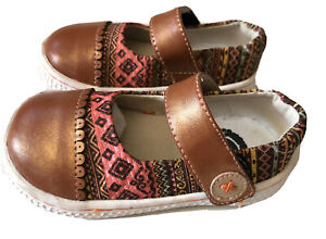 New Livie & Luca Shoes Skipper Copper Bronze Brown Toddler 4