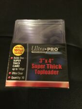 ULTRA PRO 180 PT SUPER THICK TOPLOADER TEN PACK FACTORY SEALED