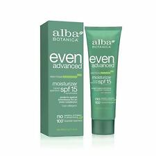 "Alba Botanica"" Even Advanced Natural Moisturizer Sea Moss SPF 15 -- 2 fl oz"